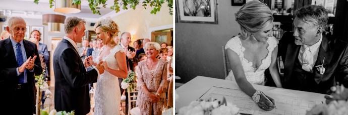 scenes during the wedding nuptials