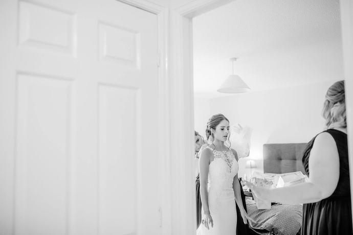 bridal preparation at home
