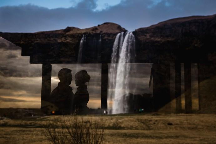 seljalandsfoss wedding photographs