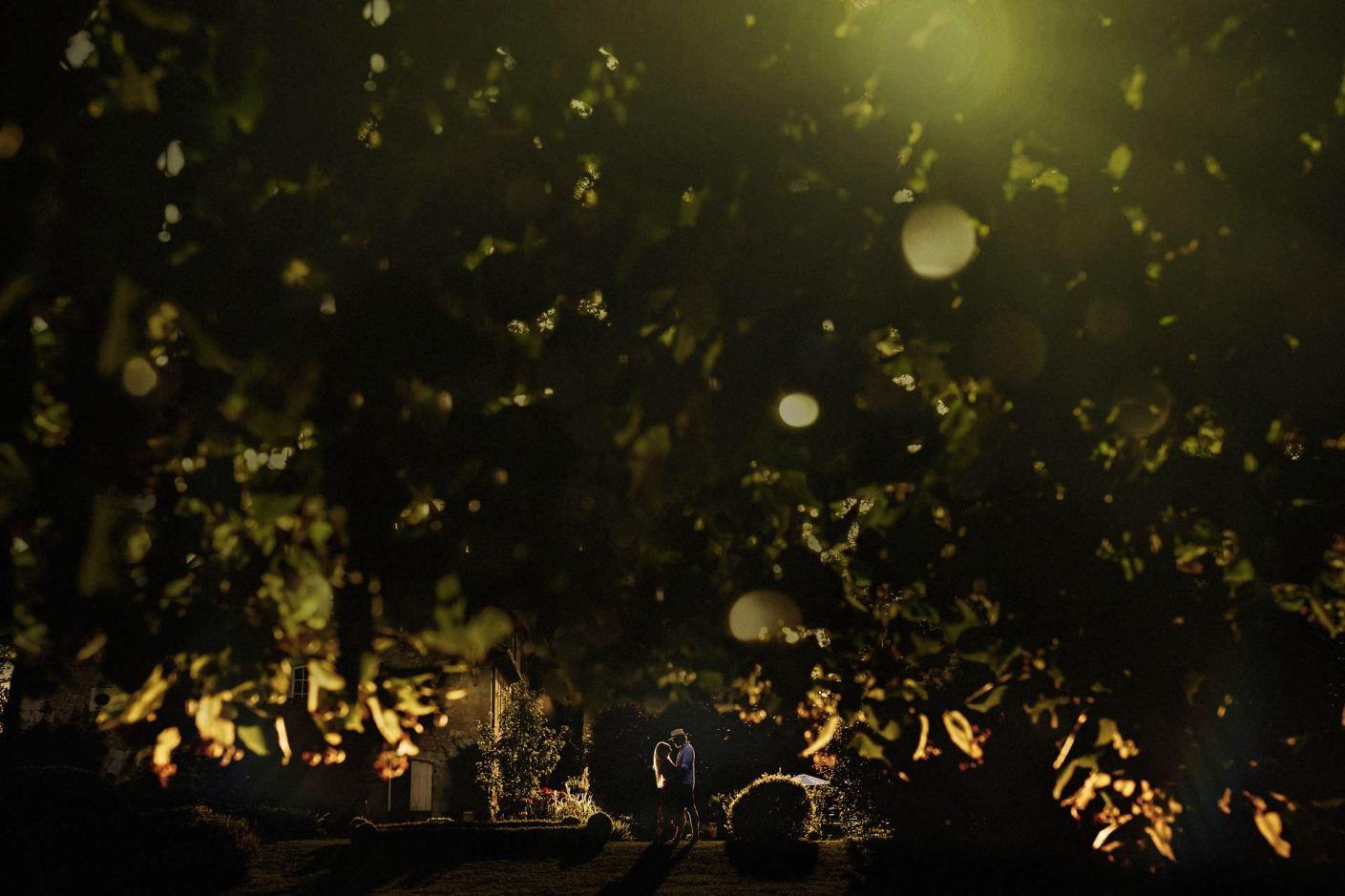 golden hour photo in le petit bersac