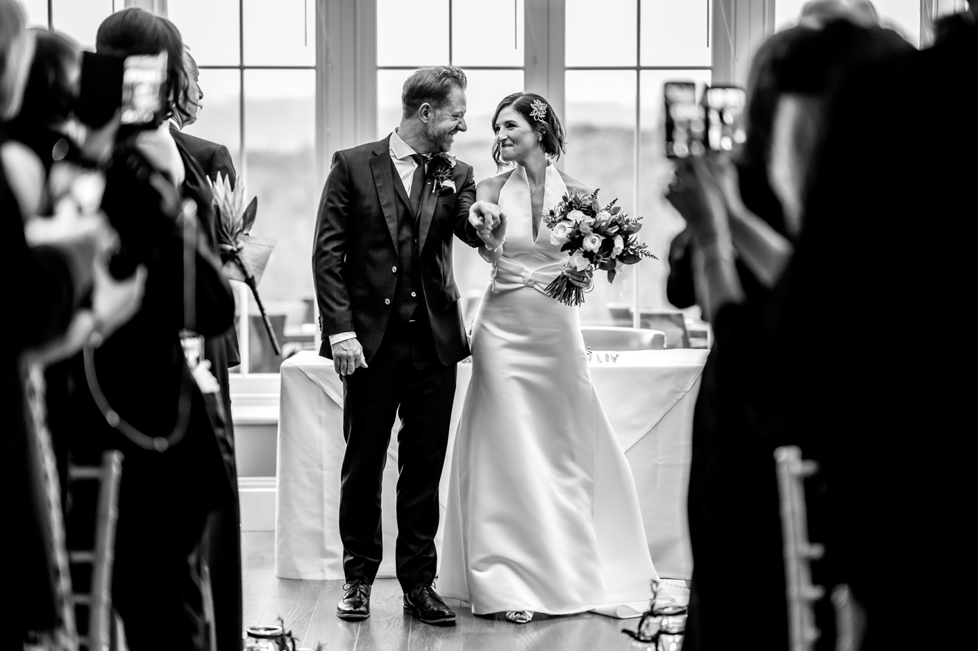 recessional, just married photo