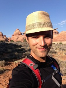 photo of Steven Slack in Canyonlands