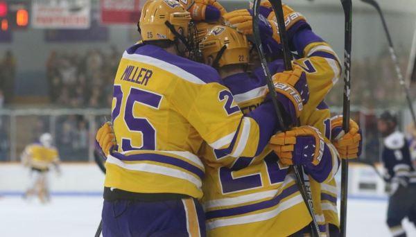 Top-ranked UWSP men's hockey wins at Marian, ties St ...