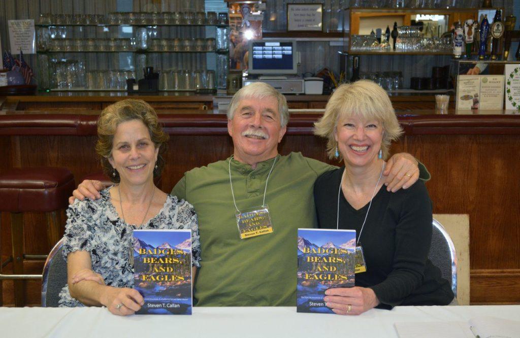 Steven T. Callan with California Travel Insider Barbara Steinberg and Kathy Callan