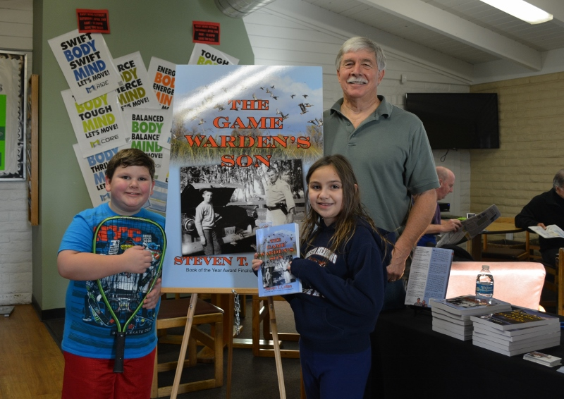 Author Steven T. Callan and Friends at Sun Oaks Book Signing for The Game Warden's Son
