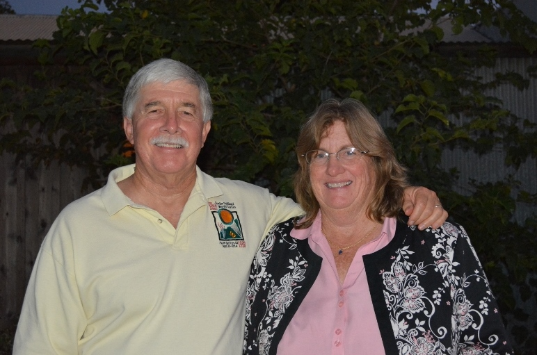 Steven T. Callan and Friend at Orland High School Class of '66 Reunion