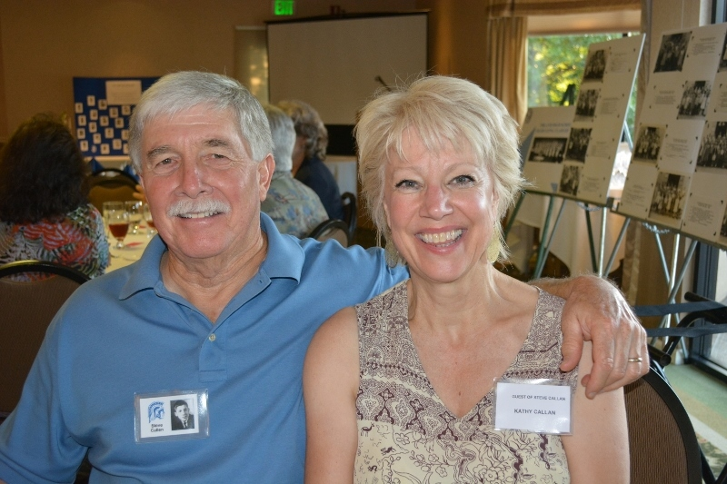 Steven T. Callan and Kathy Callan at Orland High School Class of '66 Reunion