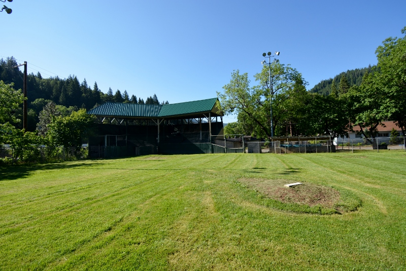 Dunsmuir's City Ball Park, where Babe Ruth played an exhibition game in 1924.