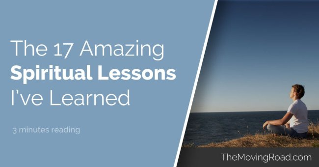 The 17 spiritual lessons I've learned