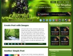 aion wordpress theme