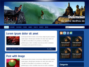 Indonesia free wordpress theme