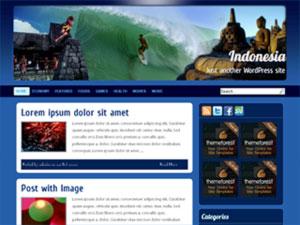 Indonesia free wordpress theme