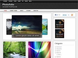 photofolio wordpress theme