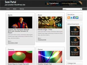 semi portal wordpress theme