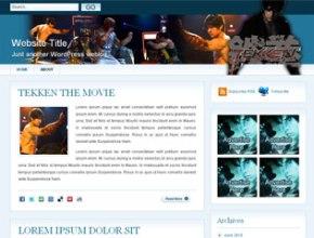 Tekken Wordpress Theme