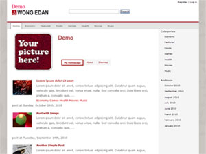 wong edan wordpress theme
