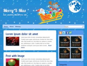 x-mas free wordpress theme