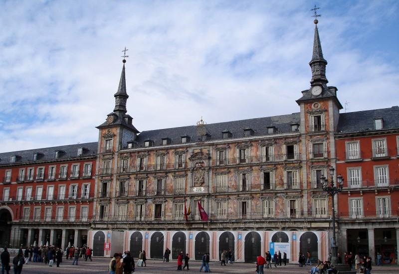 Plaza Mayor in Madrid.