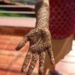 Bhavya's right arm