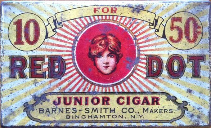 Red Dot Cigar Label