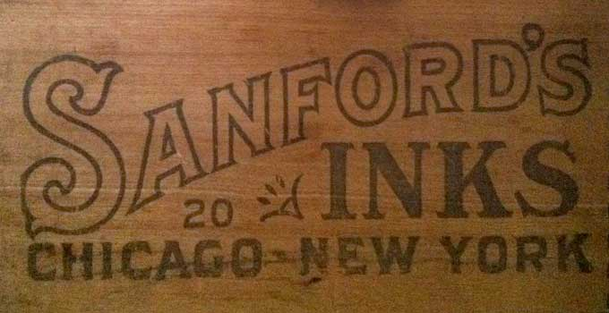 Sanford Inks Label