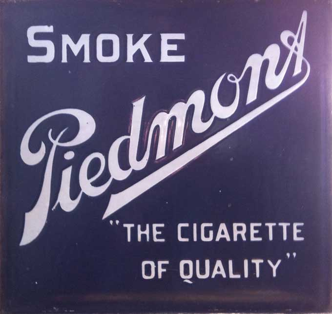 Smoke Piedmont Label