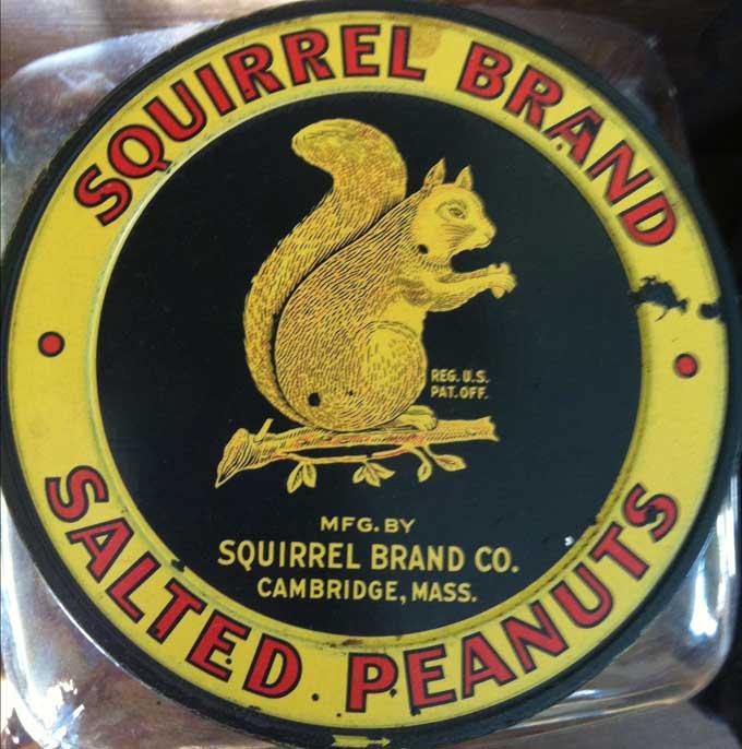 Squirrel Peanuts Label