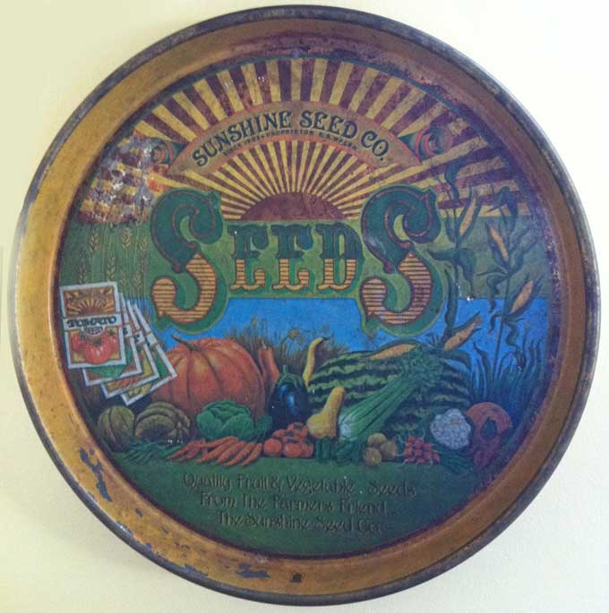 Sunshine Seed Label