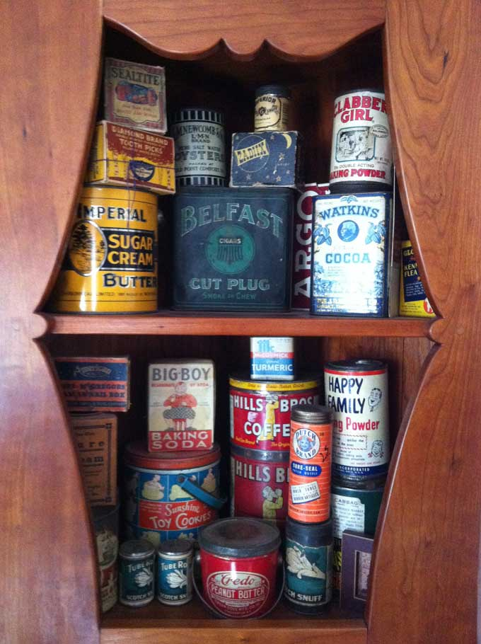 Tin Can Cabinet