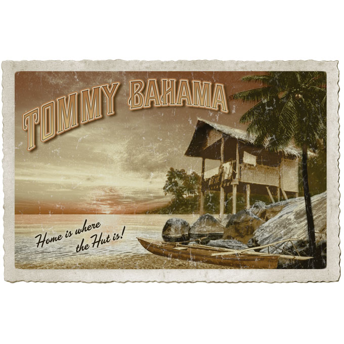 Tommy Bahama - Home is where the hut is