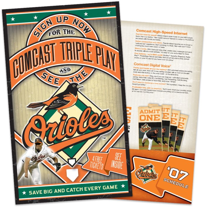 Baltimore Orioles Comcast Triple Play