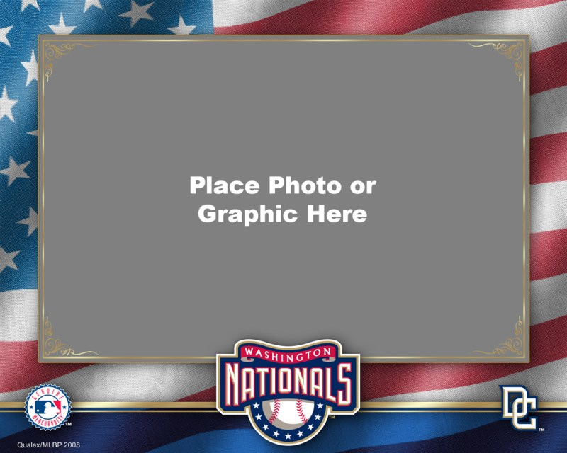 Washington Nationals Photo Template