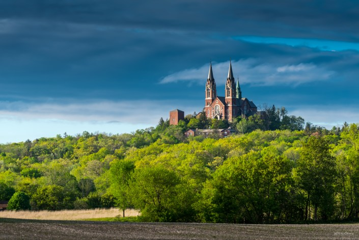 Holy Hill on a summer afternoon