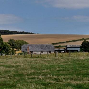 Downland flint farmhouse