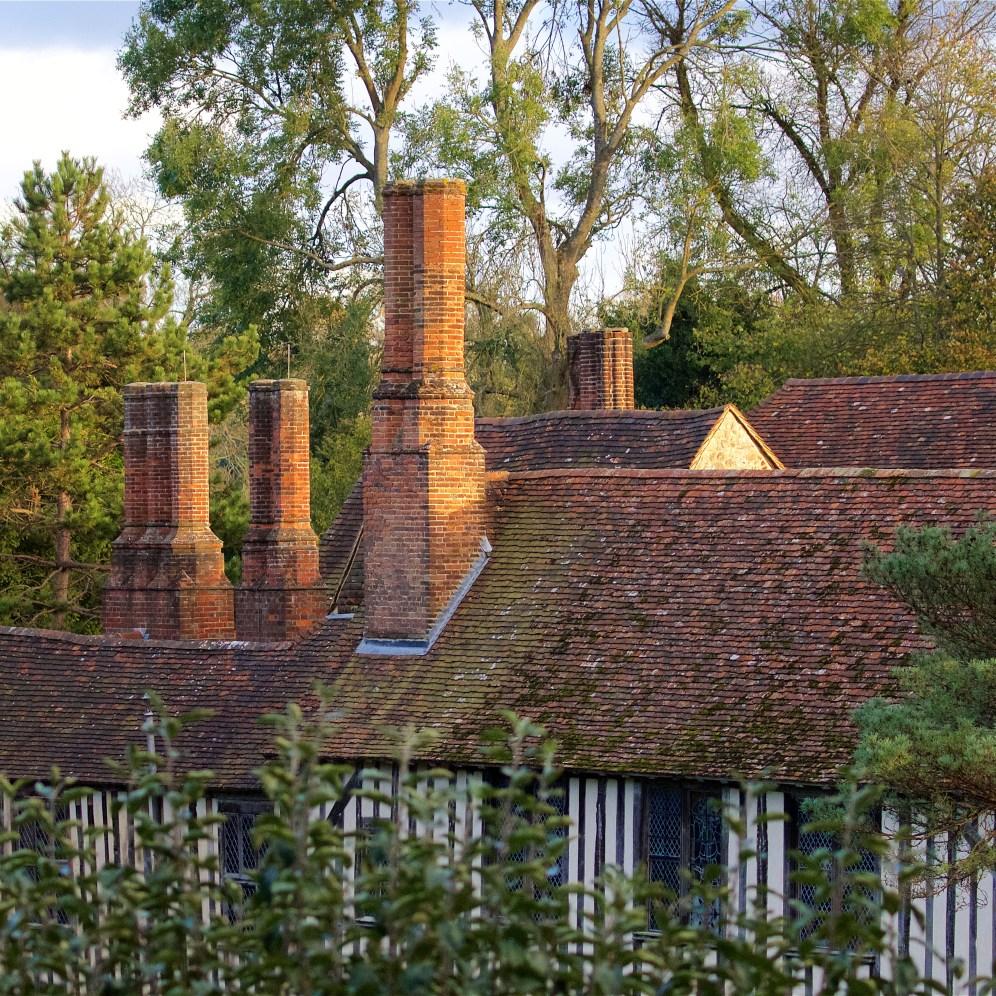 Timber-framed manor