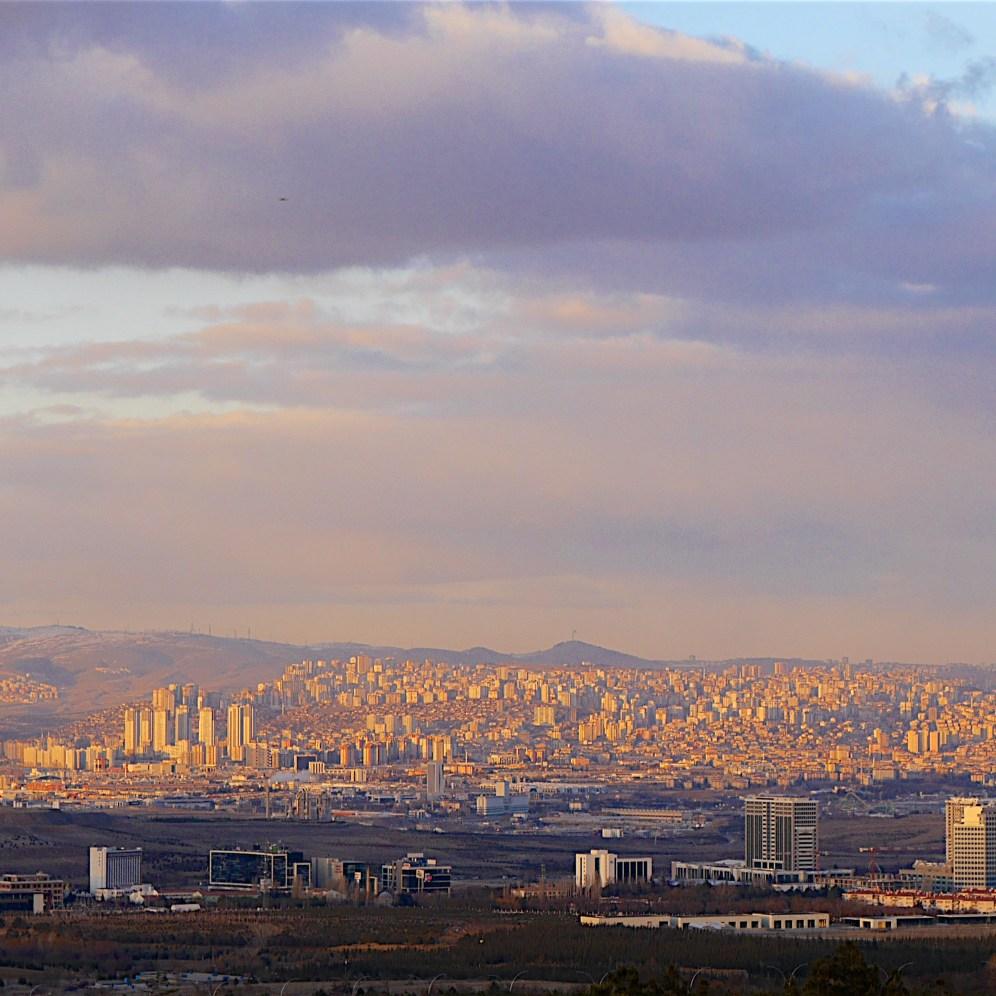 Ankara in evening light