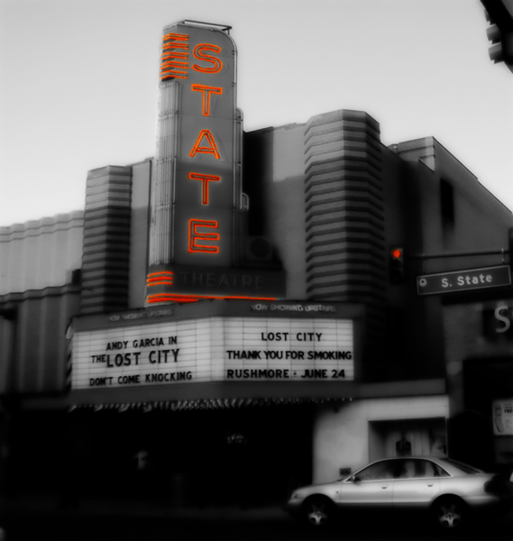 Photo of the State Theater, Ann Arbor, MI. | 2006.