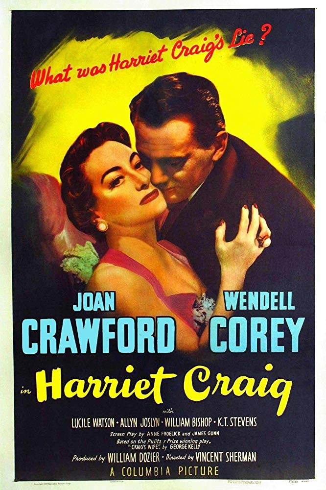 Harriet Craig movie poster