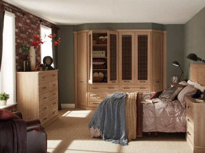 Bosworth Oak Bedroom