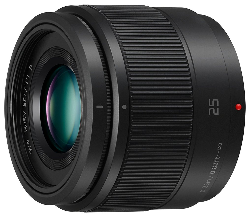 panasonic 25mm f1.7 prime lens