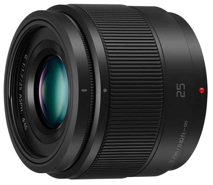 Panasonic 25mm f/1.7 lens review