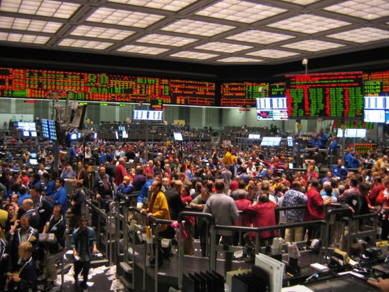 chicago board of trade trading pit