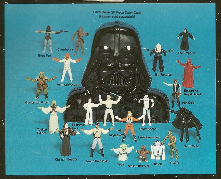 the empire strikes back kenner action figures