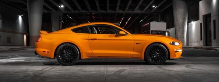 orange fury 2019 mustang gt with performance pack