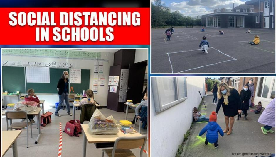 Social distancing in schools is brainwashing our kids