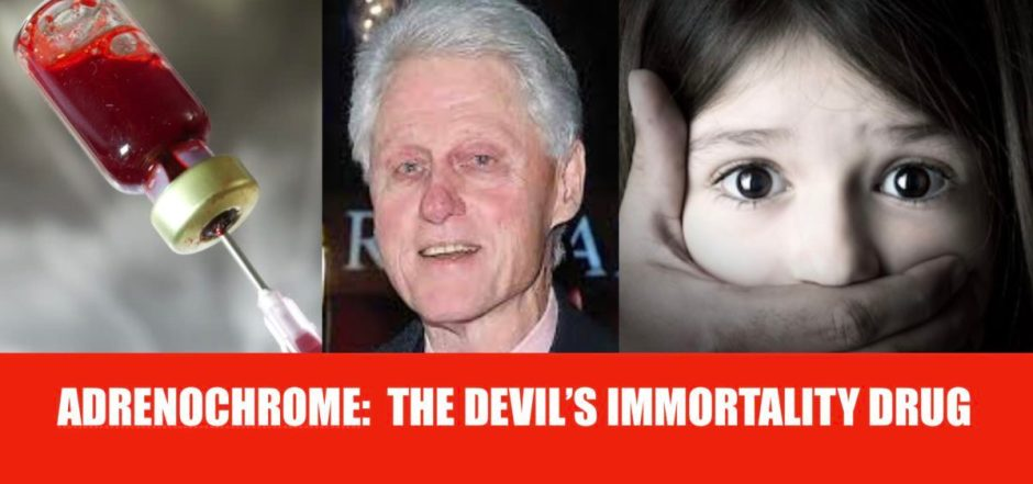 Adrenochrome is a drug used by the rich and famous in Hollywood and politics. It is harvested from the blood of children.