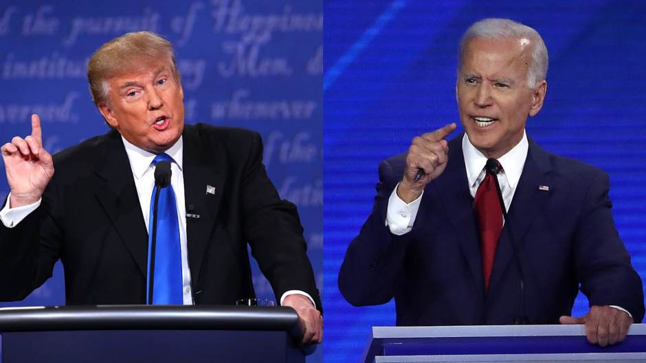 Trump and Biden first presidential debate 2020