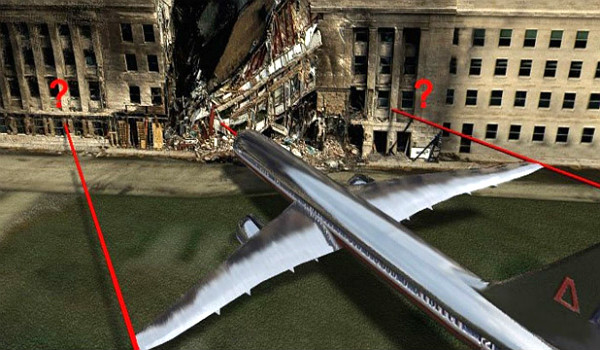 pentagon 911 attacks were too small to be from a plane crash