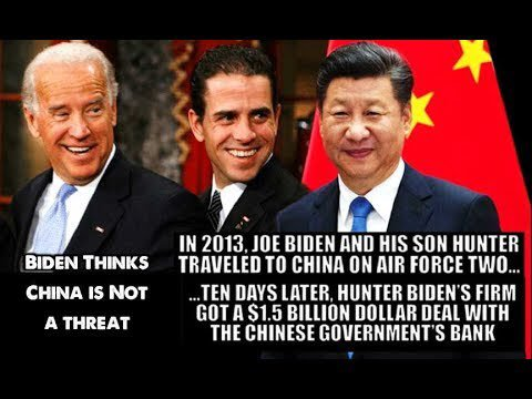 biden allows china access to United States Power Grid. Biden crime family.