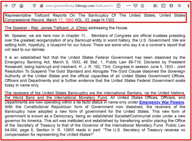 Federal Reserve and the Rothschild and Rockefeller families run the United States Government.